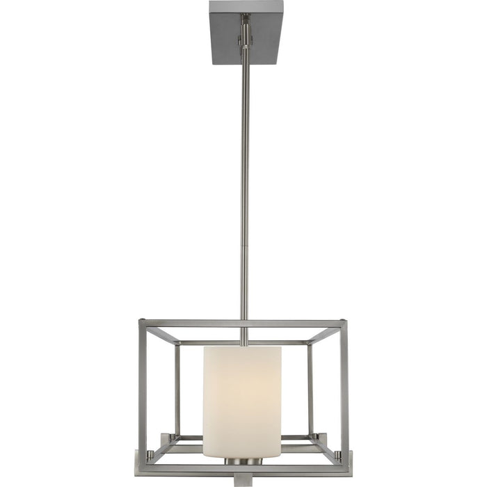 Chadwick Collection Three-Light Brushed Nickel Island Chandelier