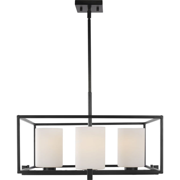 Chadwick Collection Four-Light Brushed Nickel Chandelier