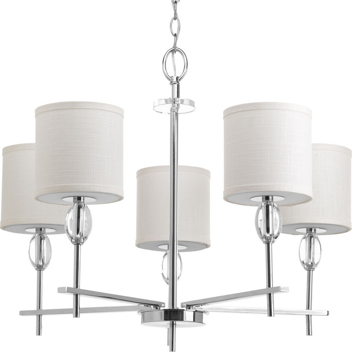 Status Collection Five-Light Chandelier