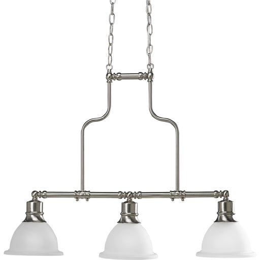 Madison Collection Three-Light Linear Chandelier