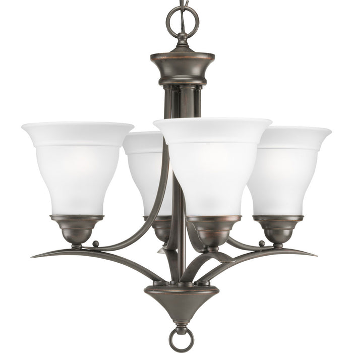 Trinity Collection Four-Light Chandelier