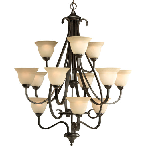 Torino Collection Twelve-Light Foyer Chandelier