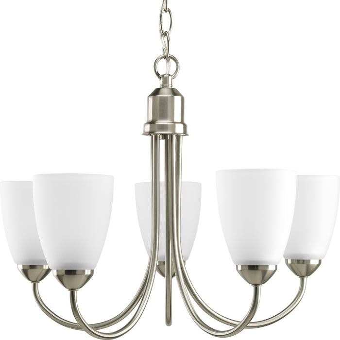 Gather Collection Five-Light Chandelier