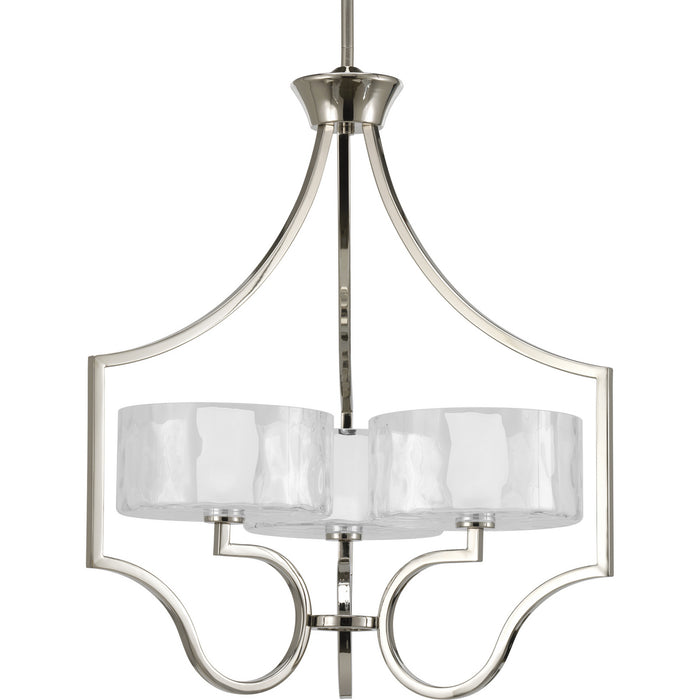 Caress Collection Three-Light Chandelier