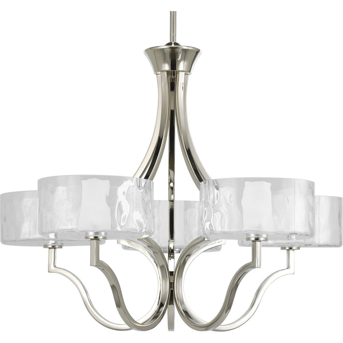 Caress Collection Five-Light Chandelier
