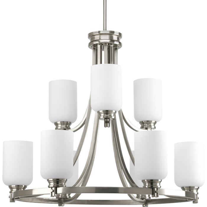 Orbitz Collection Nine-Light, Two-Tier Chandelier
