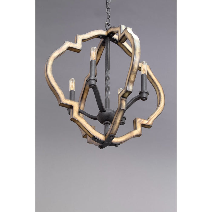 Spicewood Collection Four-Light Chandelier