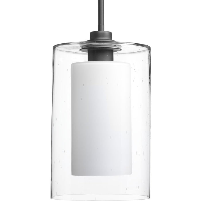 Double Glass Collection One-Light Pendant