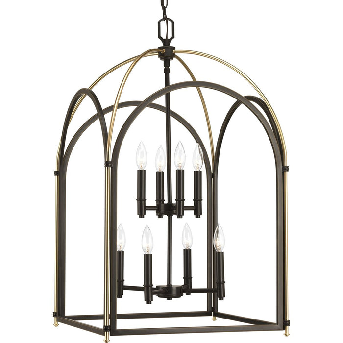 Westfall Collection Eight-light Largel Foyer Pendant