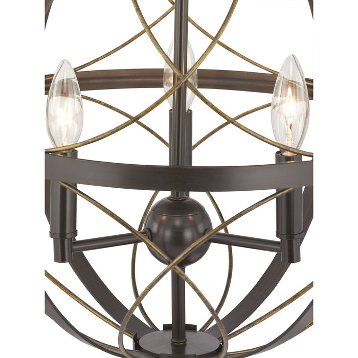 Brandywine Collection Three-Light Pendant