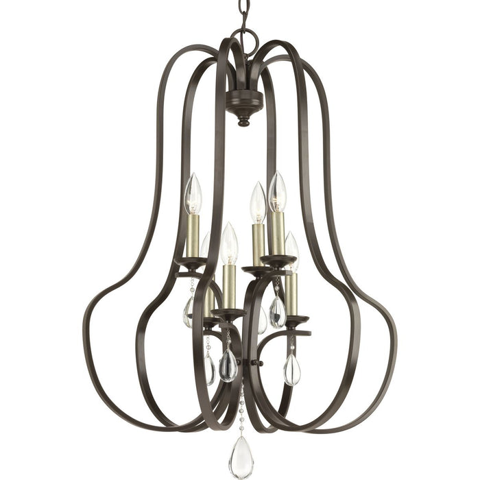 Anjoux Collection Six-Light Pendant