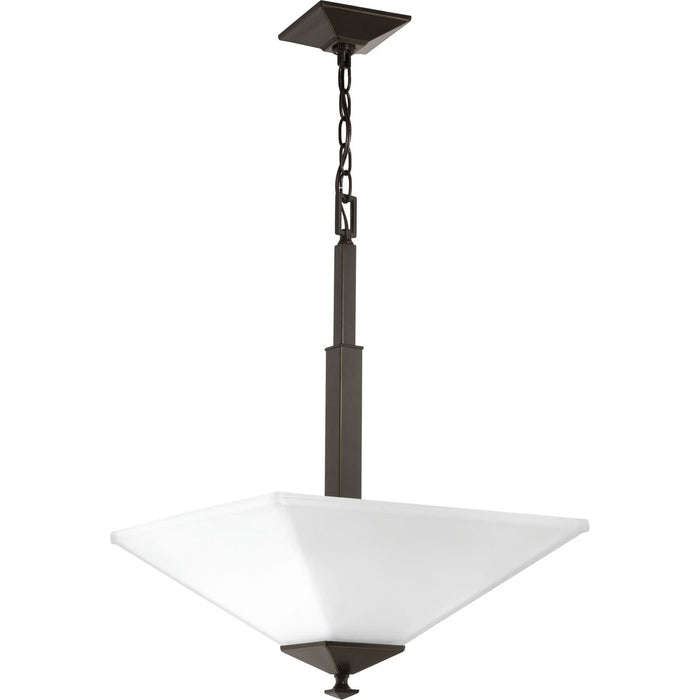 Clifton Heights Collection Two-Light Inverted Pendant