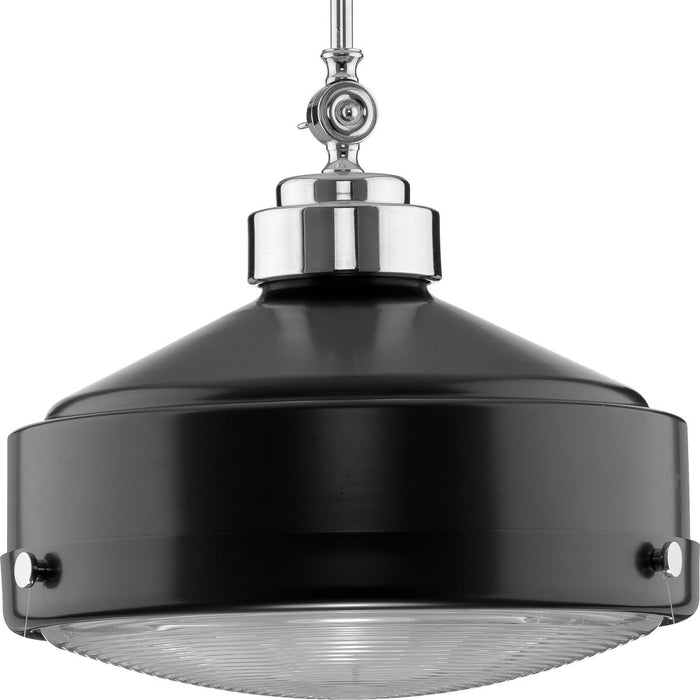 Loftin Collection Brushed Nickel One-Light Pendant