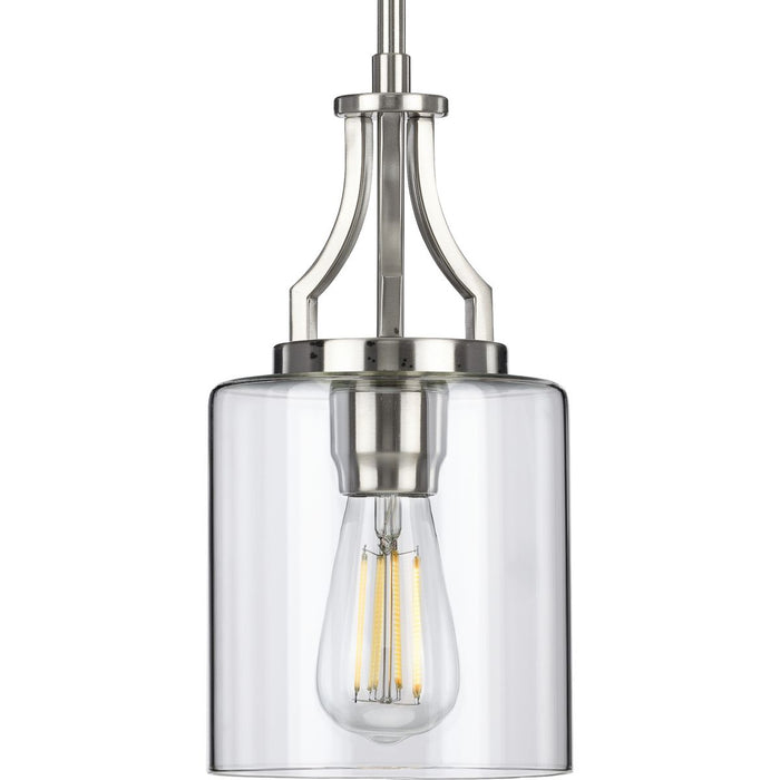 Lassiter Collection Brushed Nickel One-Light Mini-Pendant