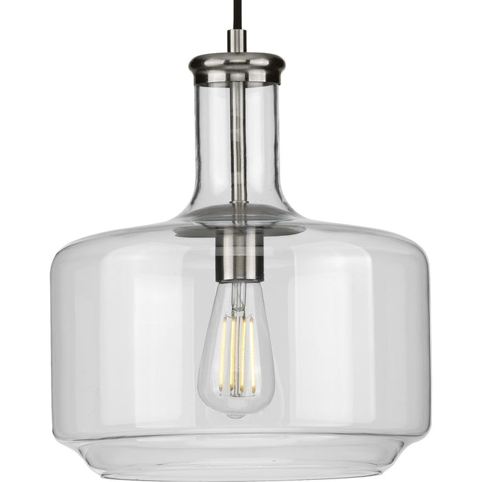 Latrobe Collection Brushed Nickel One-Light Pendant