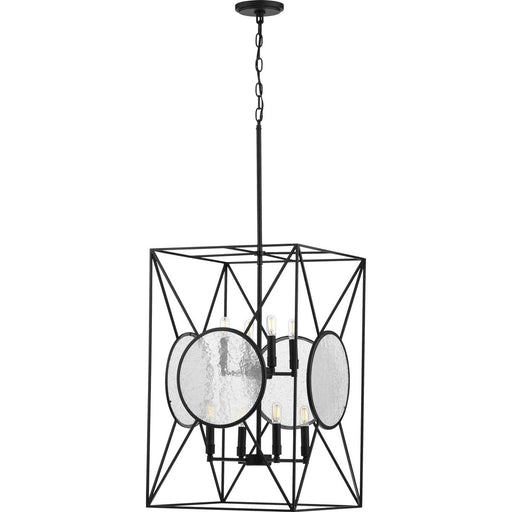 Cumberland Collection Eight-Light Black Foyer