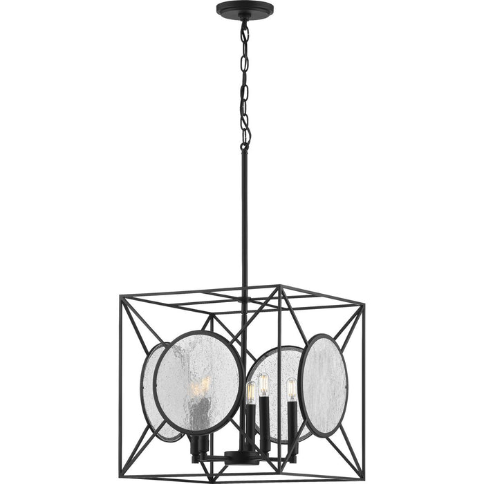 Cumberland Collection Five-Light Black Pendant