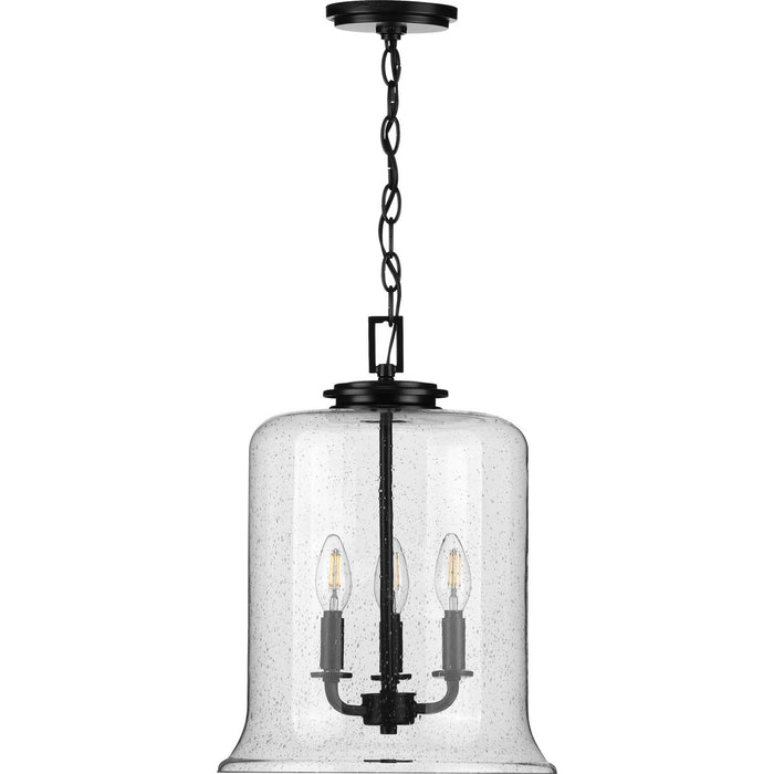 Winslett Collection Brushed Nickel Three-Light Pendant