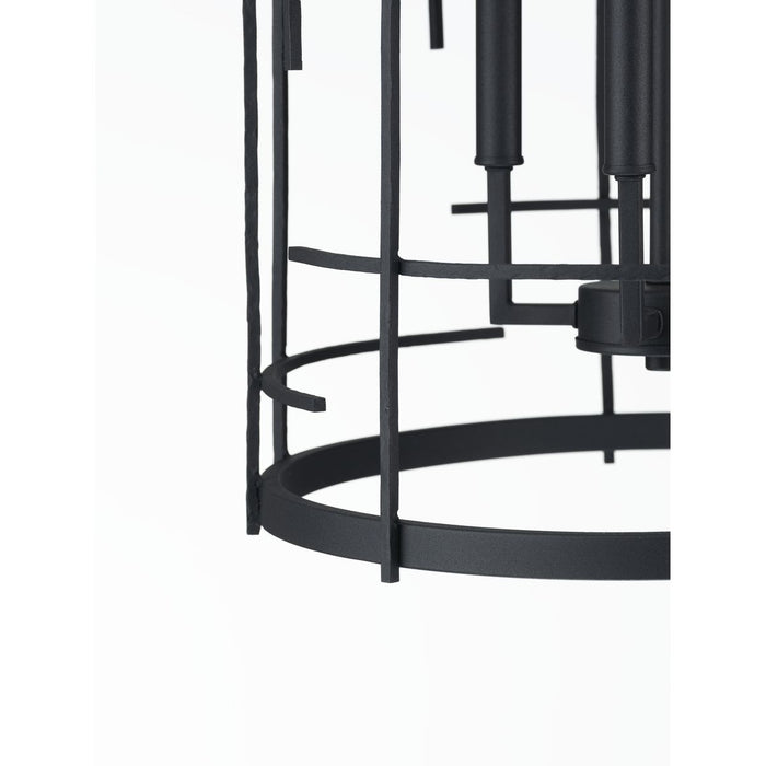 Torres Collection Black Four-Light Foyer