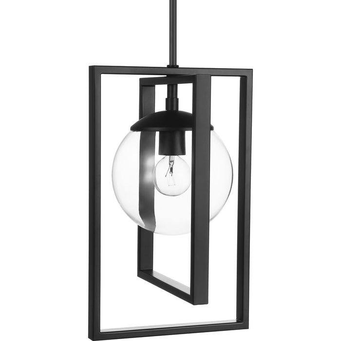 Atwell Collection Brushed Nickel One-Light Pendant