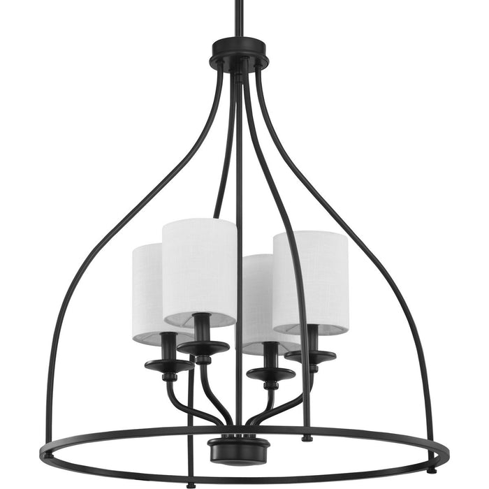 Bonita Collection Four-Light Foyer Chandelier