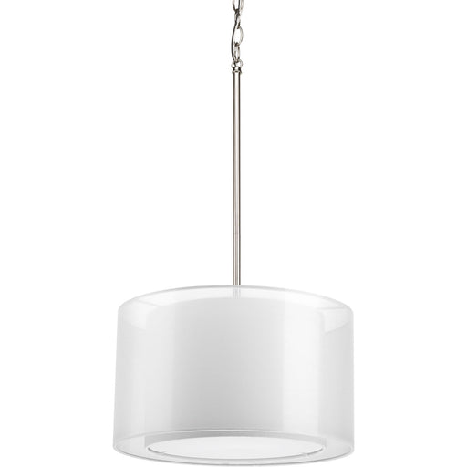 Cuddle Collection One-Light Mylar Drum Pendant
