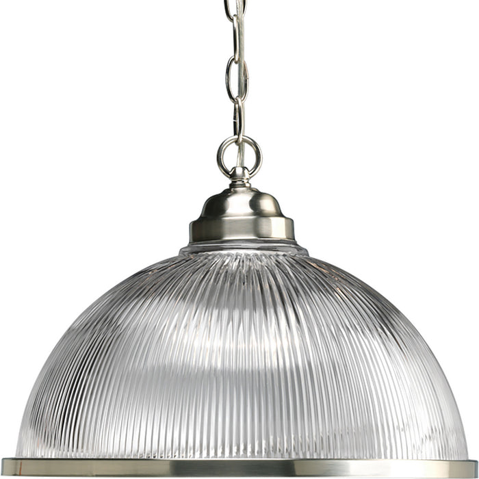 Prismatic Glass Collection One-Light Pendant