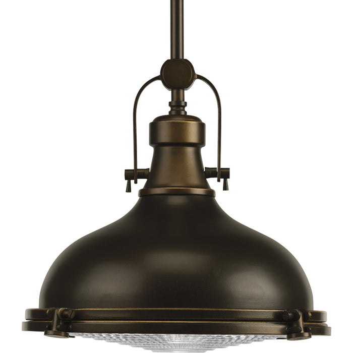 "Fresnel Lens Collection 12"" One-Light Pendant"