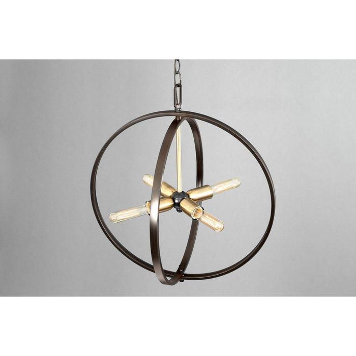 Swing Collection Four-Light Medium Pendant
