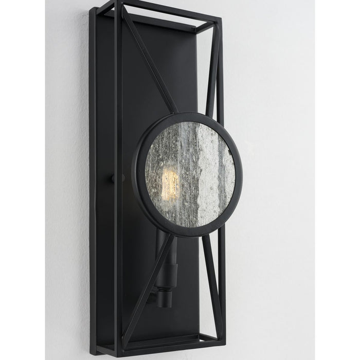 Cumberland Collection One-Light Black Wall Sconce