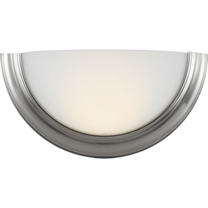 Eclipse LED Collection Brushed Nickel One-Light LED Wall Sconce