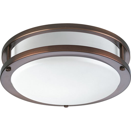 "One-Light 10-3/8"" LED Flush Mount"