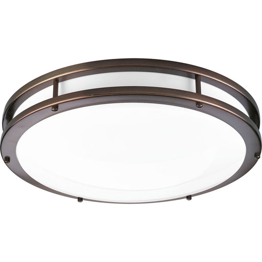 "One-Light 17-3/4"" LED Flush Mount"