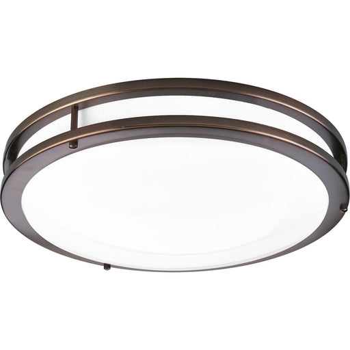 "One-Light 14"" LED Flush Mount"