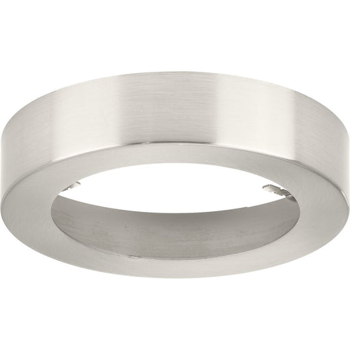 "Everlume Collection Brushed Nickel 5"" Edgelit Round Trim Ring"
