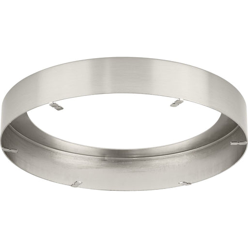 "Everlume Collection Brushed Nickel 7"" Edgelit Round Trim Ring"