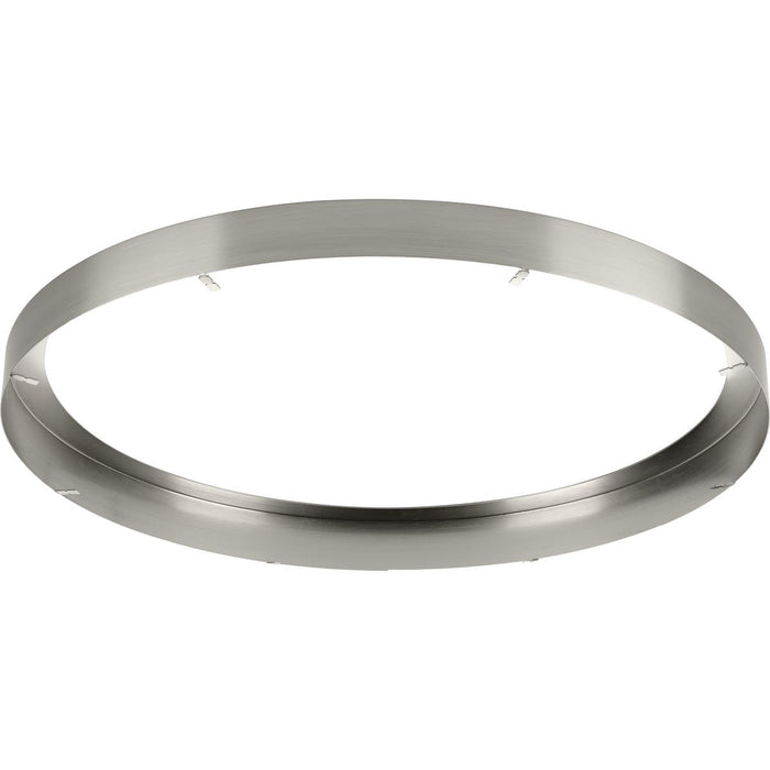 "Everlume Collection Brushed Nickel 14"" Edgelit Round Trim Ring"