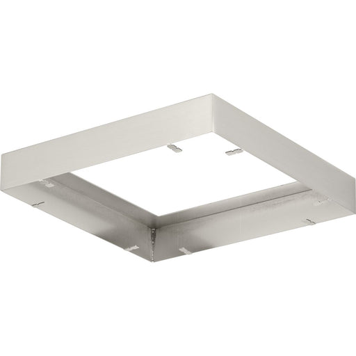 "Everlume Collection Brushed Nickel 7"" Edgelit Square Trim Ring"