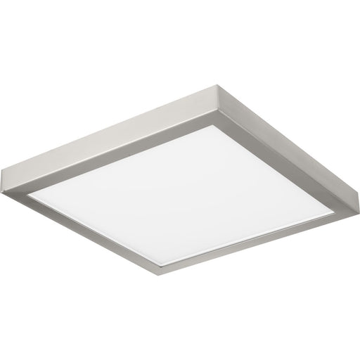 "Everlume Collection Brushed Nickel 11"" Edgelit Square Trim Ring"