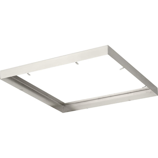 "Everlume Collection Brushed Nickel 14"" Square Trim Ring"