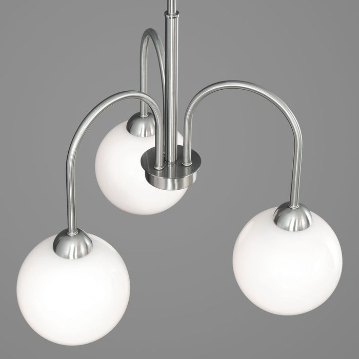 Carisa Collection Three-Light Chandelier