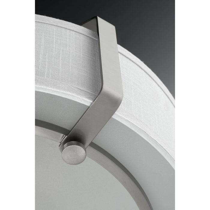 "Ratio Collection Three-Light 16"" Semi-Flush Mount"