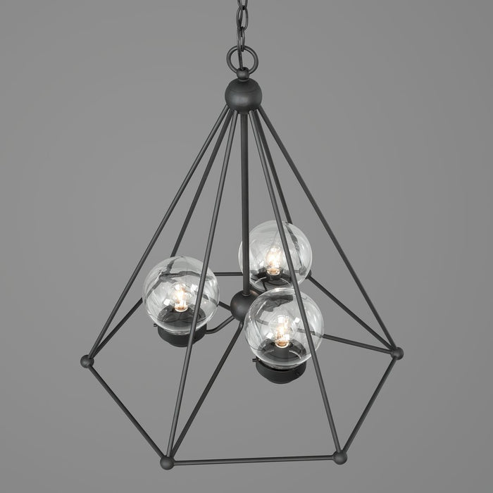 Spatial Collection Three-Light Chandelier