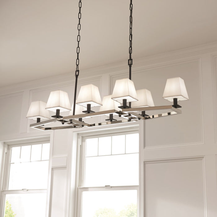 Dancar 48in. 8 Light Linear Chandelier