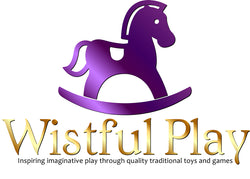 Wistful Play rocking horse logo