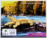 3D crocodile animal puzzle
