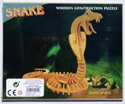 3D snake reptile puzzle