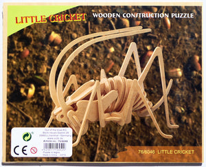 3D little cricket insect puzzle