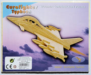 3D Eurofighter Typhoon airplane puzzle
