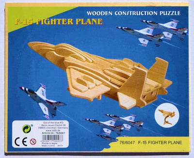 3D F15 airplane puzzle